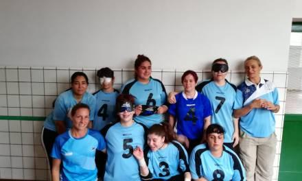 Goalball: la selección femenina se dio un gusto grande