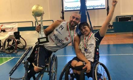 Básquet adaptado: con un Berdún iluminado, Briantea conquistó la Copa Italia