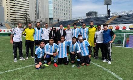 Fútbol para ciegos: Los Murciélagos le ganaron a Inglaterra y se quedaron con la Copa en Japón