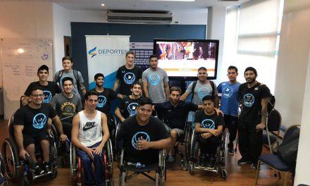 Ariel Quassi y una charla para el básquet juvenil
