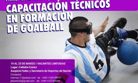 Goalball: capacitación para entrenadores en Ezeiza