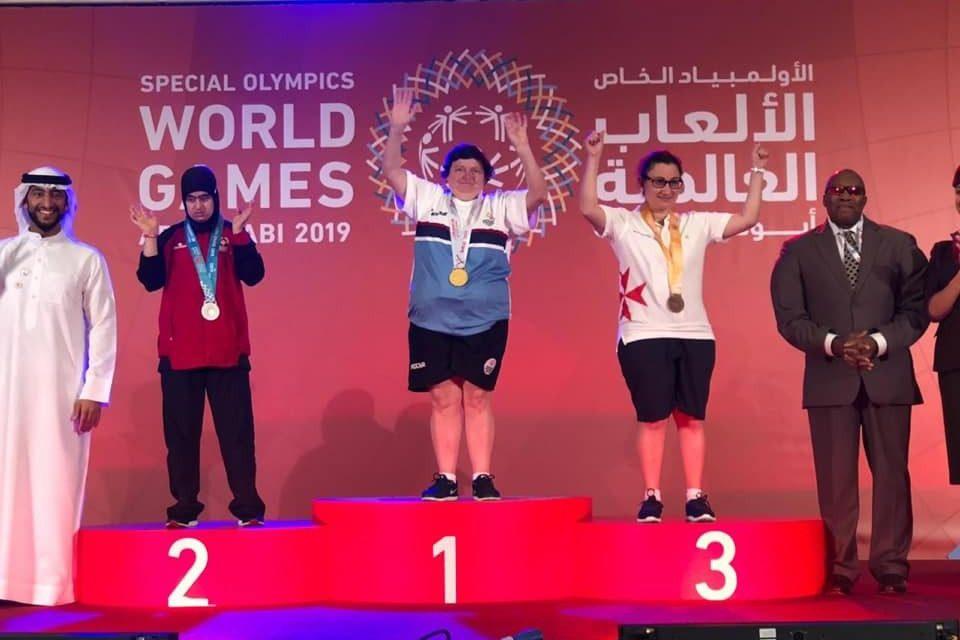 Llegaron las medallas doradas para Argentina en los Juegos Mundiales de Olimpiadas Especiales