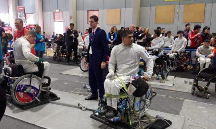 Esgrima paralímpica: Alderete, presente en la Copa del Mundo de Italia