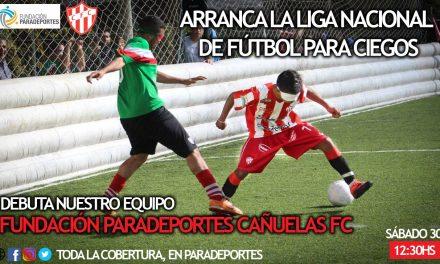 """Fútbol para ciegos: arranca la Liga Nacional 2019 con la participación del equipo """"Fundación Paradeportes – Cañuelas FC"""""""