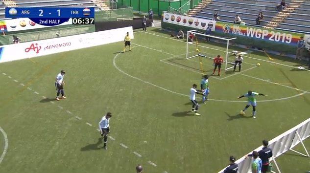 Fútbol para ciegos: Los Murciélagos y un debut a puro gol en Japón