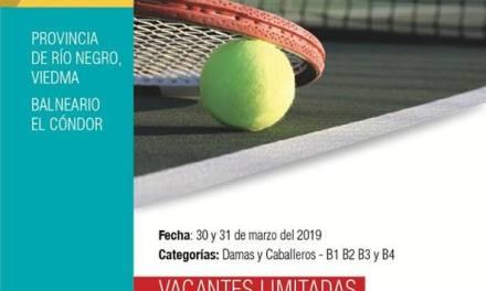 Tenis para ciegos: se viene el primer torneo nacional