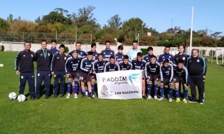 Fútbol: con muchas caras nuevas, Los Halcones se concentraron en Mar del Plata