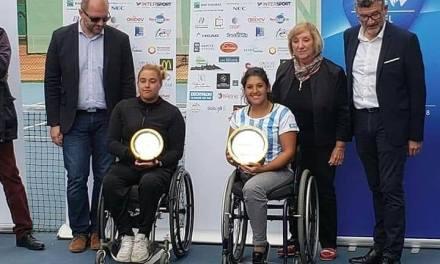 Tenis adaptado: ¡Florencia Moreno, campeona en Francia!