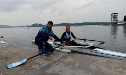 Remo paralímpico: Argentina, presente en Italia
