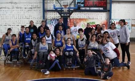 Básquet: Las Lobas se entrenaron en Venado Tuerto