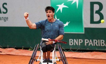 Tenis adaptado: ¡Gustavo Fernández, finalista de Roland Garros!