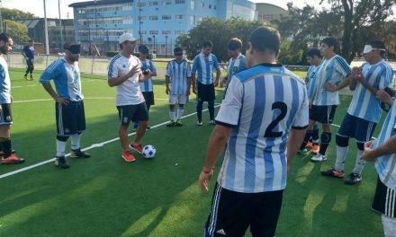 Fútbol para ciegos: Argentina ya tiene sus equipos para la Copa Tango
