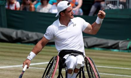 Tenis adaptado: Gustavo Fernández sigue firme en Francia