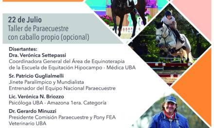 Curso de equinoterapia y equitación adaptada en Córdoba