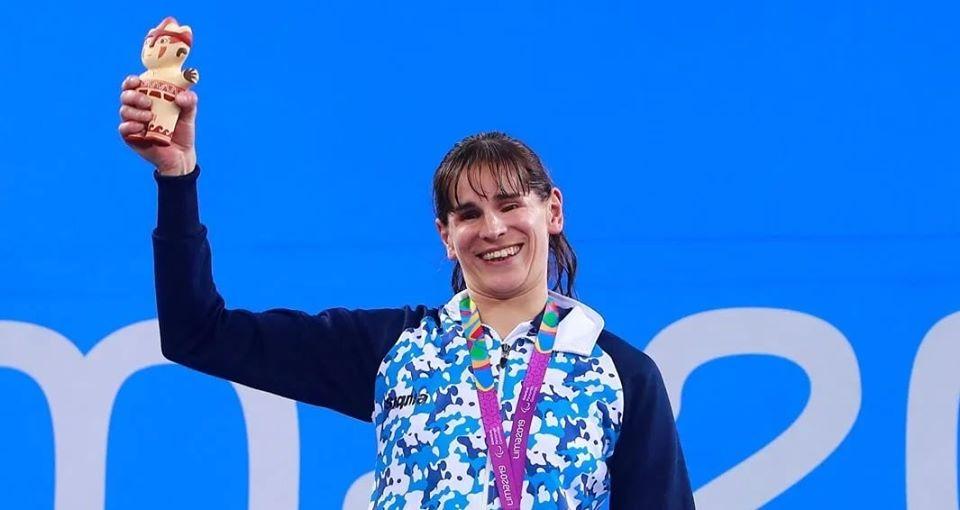 Natación: Nadia Báez, quinto puesto en el Mundial de Londres