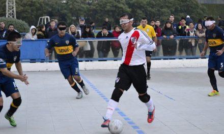 Ahora se viene el River-Boca en el fútbol 5 para ciegos