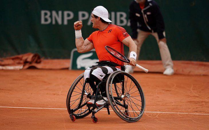 Tenis adaptado: Gustavo Fernández, semifinalista del Masters