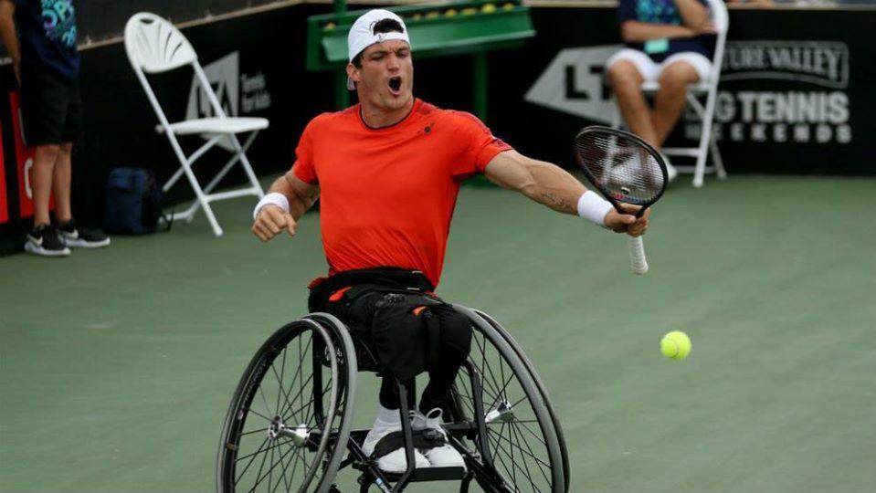 Tenis adaptado: debut positivo para Gustavo Fernández en el Masters