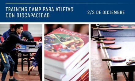 Tenis de mesa adaptado: se viene un curso internacional para entrenadores en Bariloche