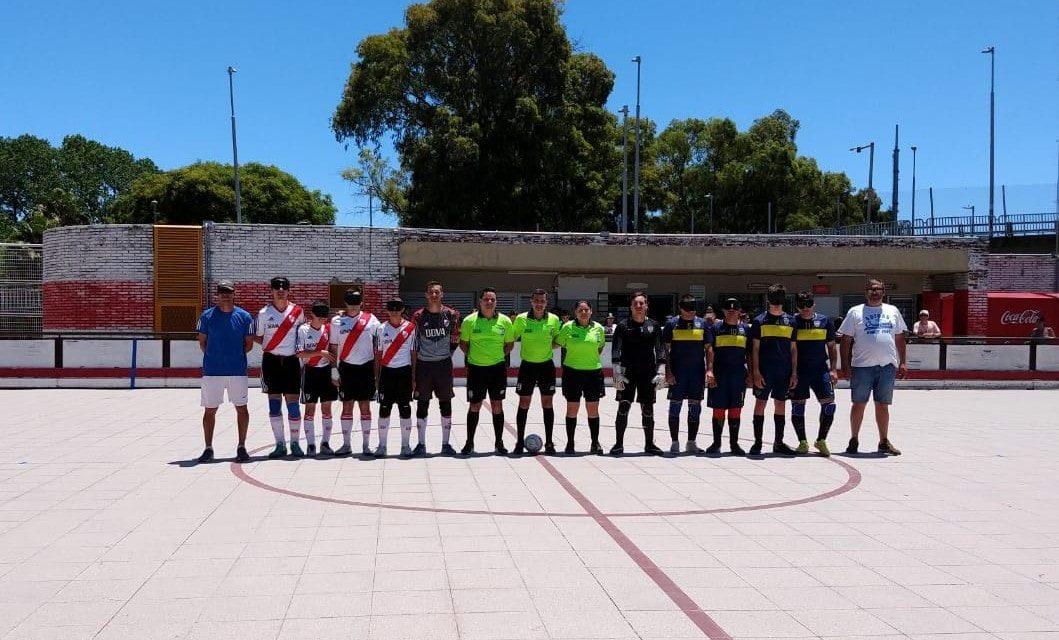 Fútbol para ciegos: River y Boca empataron, y se clasificaron al octogonal final