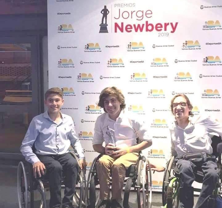 El deporte adaptado tuvo su espacio en los premios Jorge Newbery