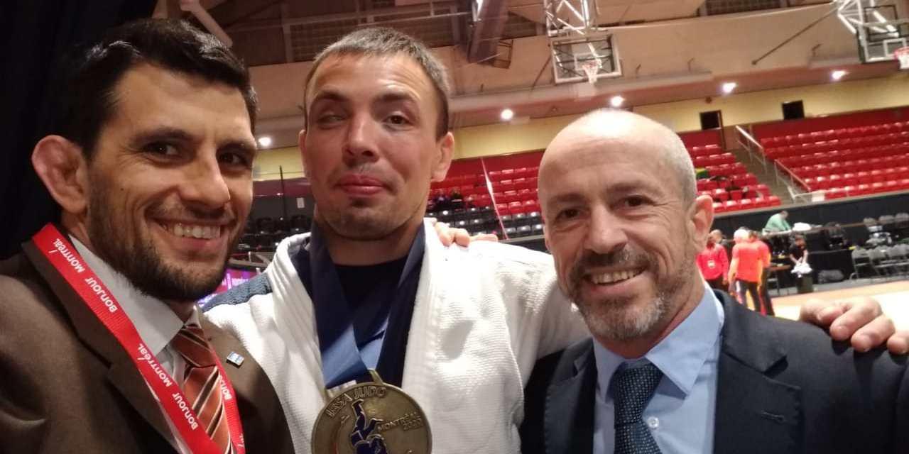 Judo para ciegos: Gauto obtuvo la medalla dorada en Canadá