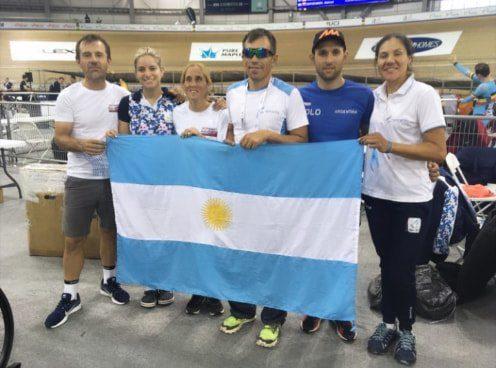 Paraciclsmo: seis argentinos compitieron en el Mundial de Pista