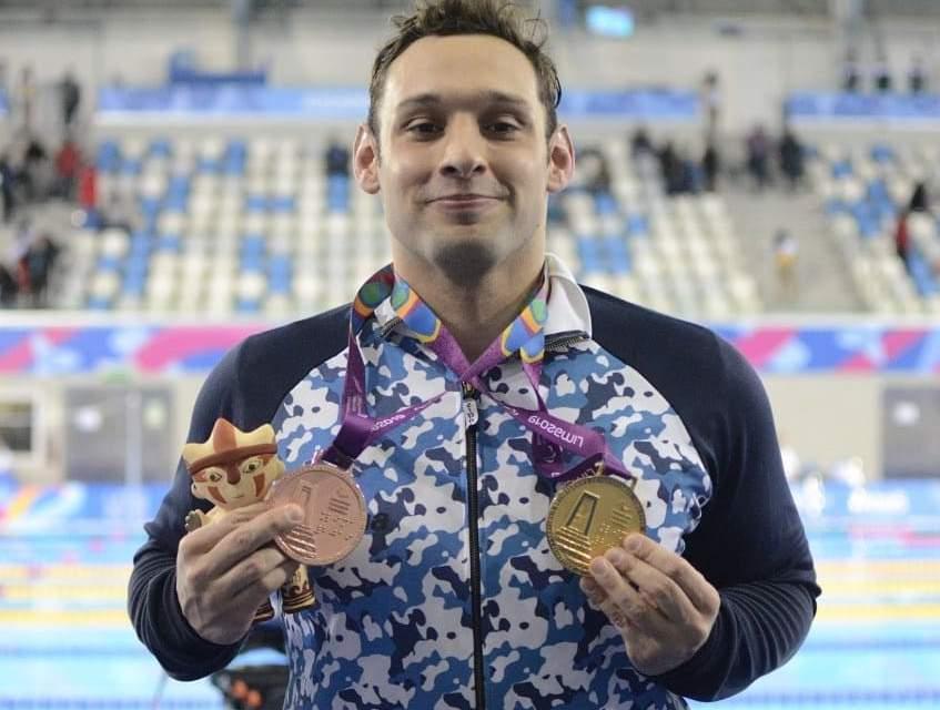 """Fernando """"Pipo"""" Carlomagno: el nadador paralímpico que estudia para ser maestro de primaria y sueña con una medalla en Tokio 2021"""