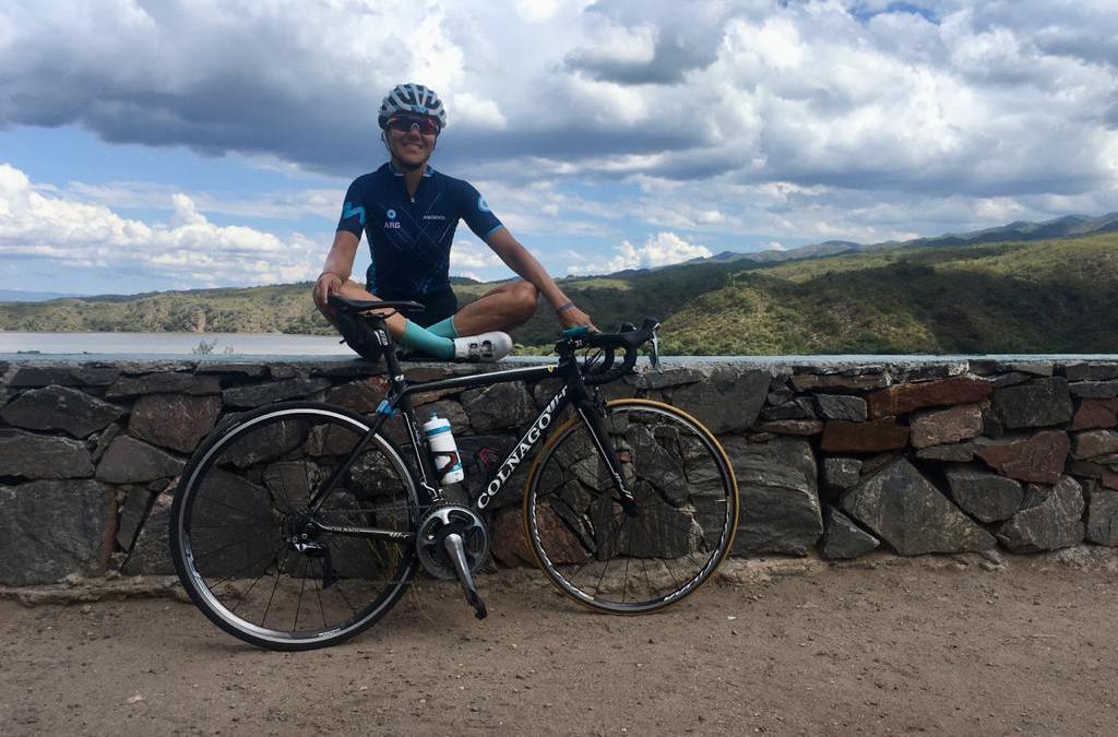 Mariela Delgado, la atleta paralímpica que viajó a Catamarca antes de la cuarentena y ahora se entrena en una provincia que tiene un solo caso de coronavirus