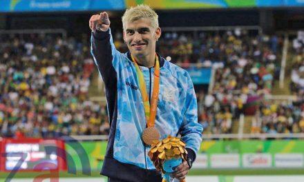 Se cumplen cuatro años de la medalla de bronce de Hernán Barreto en los 100 metros de Río 2016