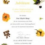 Urkunde, Artenvielfalt Sortenvielfalt