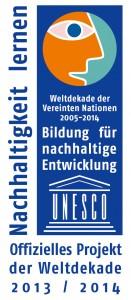 Logo der Bildung für nachhaltige Entwicklung