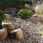 Kraftplatz im Garten