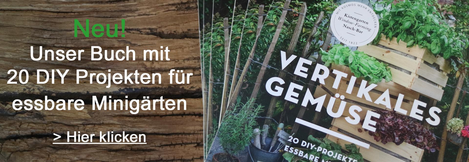 Vertikales Gemüse Buch