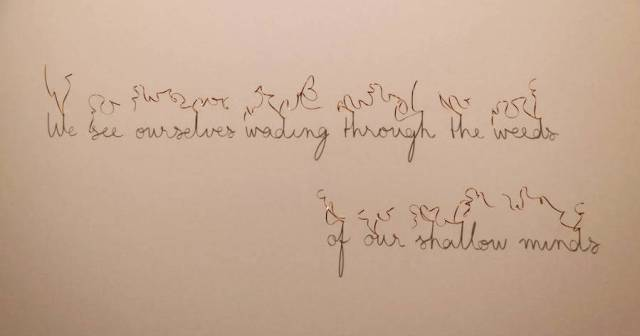 Poëzie van schaduw | Paradijsvogels Magazine