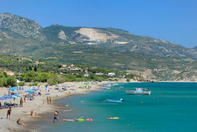 Votsalakia strand Samos