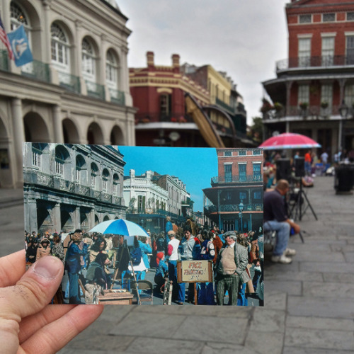 Jackson Square in New Orleans, Louisiana