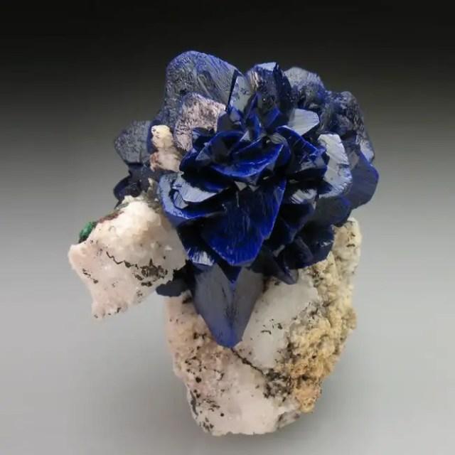 magische mineralen azuriet