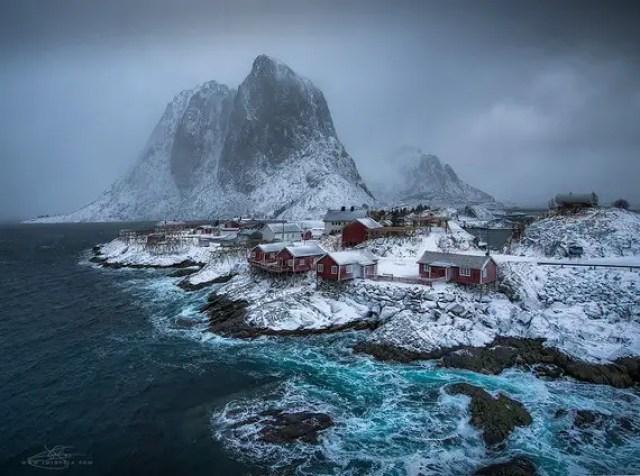 Hamnoy, Noorwegen
