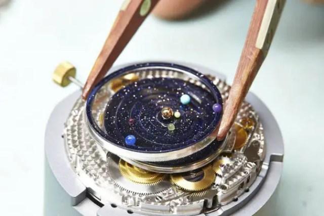 planetarium horloge
