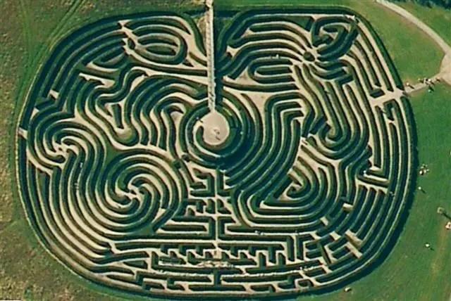 Peace Maze castlewellan1