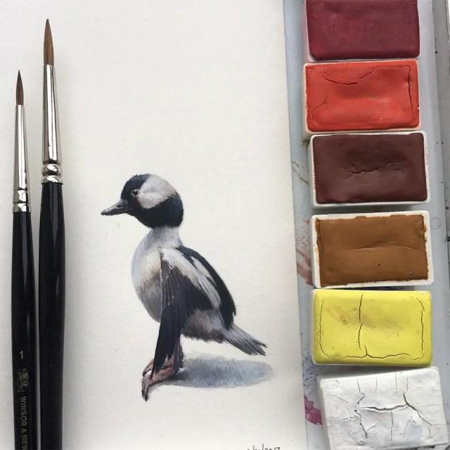 Miniature birds 10