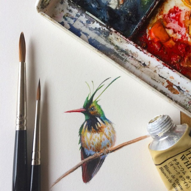 Miniature birds 4