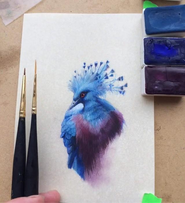 Miniature birds 6