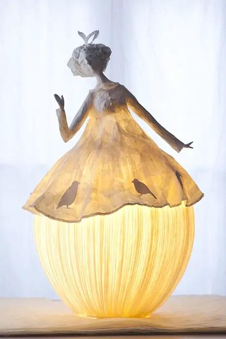 Papieren lamp 5