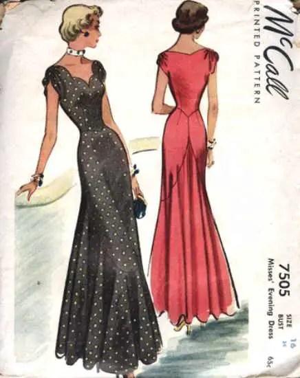 Naaipatroon 1949 - McCall