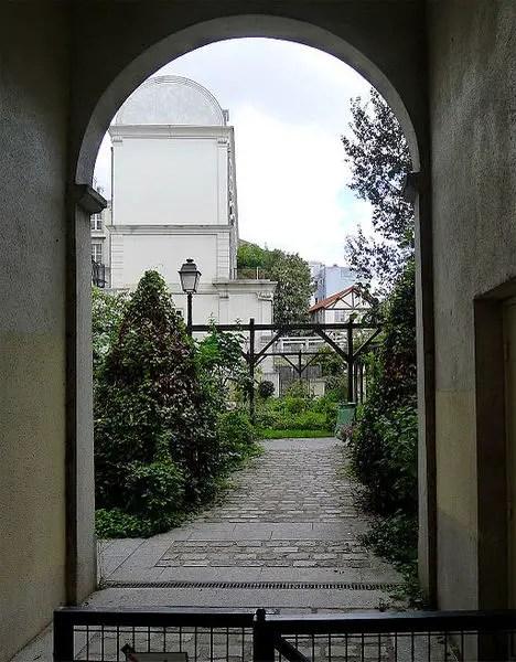 Geheime tuinen 8 - Abbesses