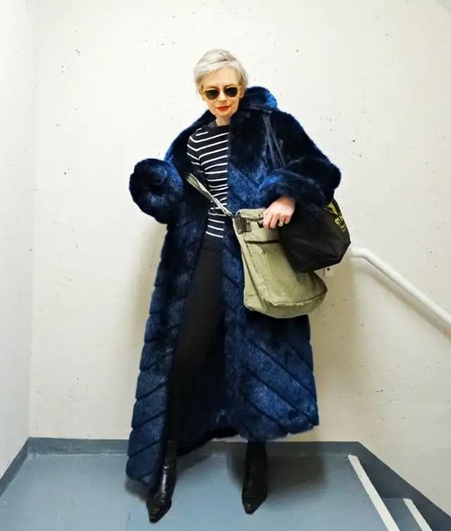 stijlvol ouder worden 4 - Melanie Kobayashi (Bag and a Beret)