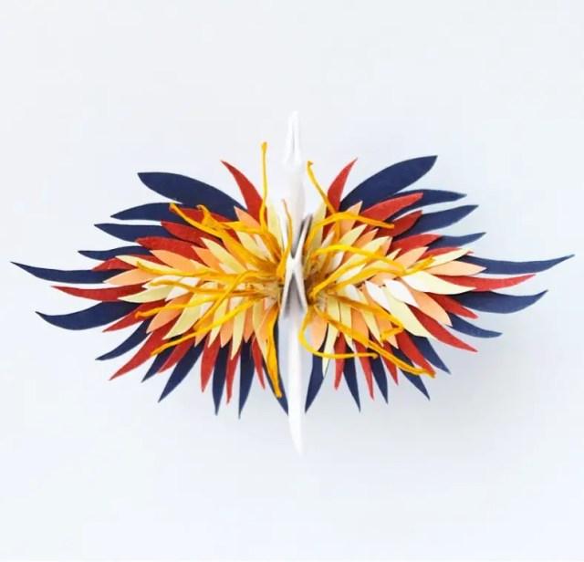 Kraanvogel origami