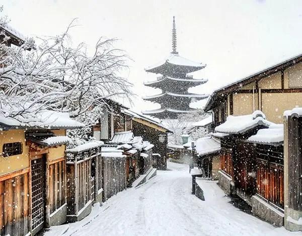 Kyoto in de sneeuw - 5